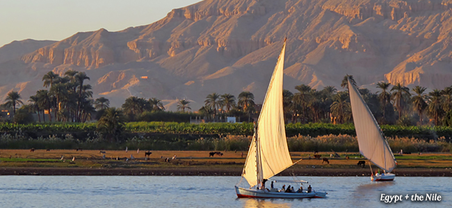 Two Luxury Journeys to Egypt + The Nile